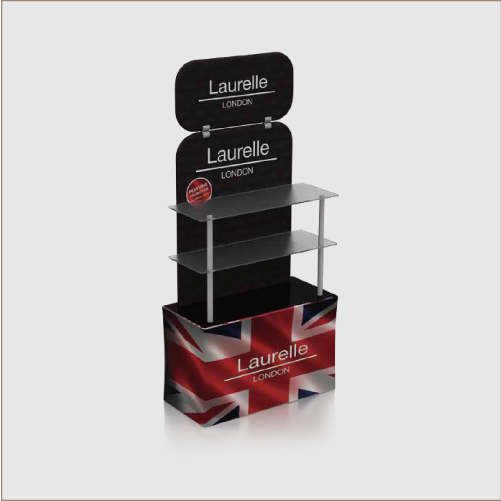 Fabric Display Stand E