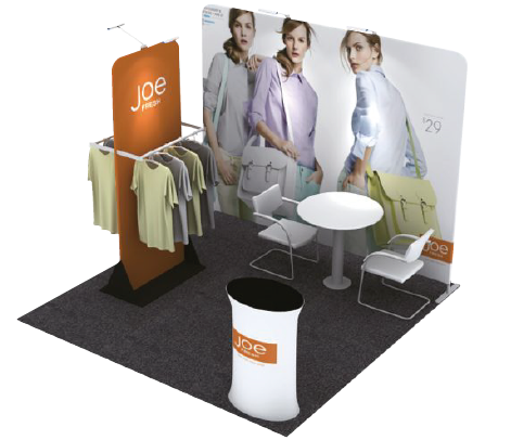 Exhibition Fabric Booth