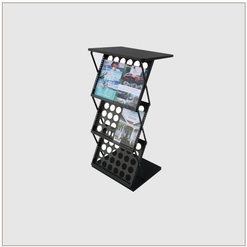 Lectern Table & Brochure Rack